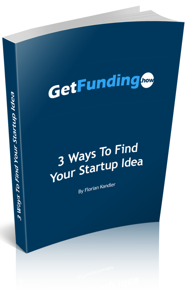 find your startup idea - free ebook - Florian Kandler
