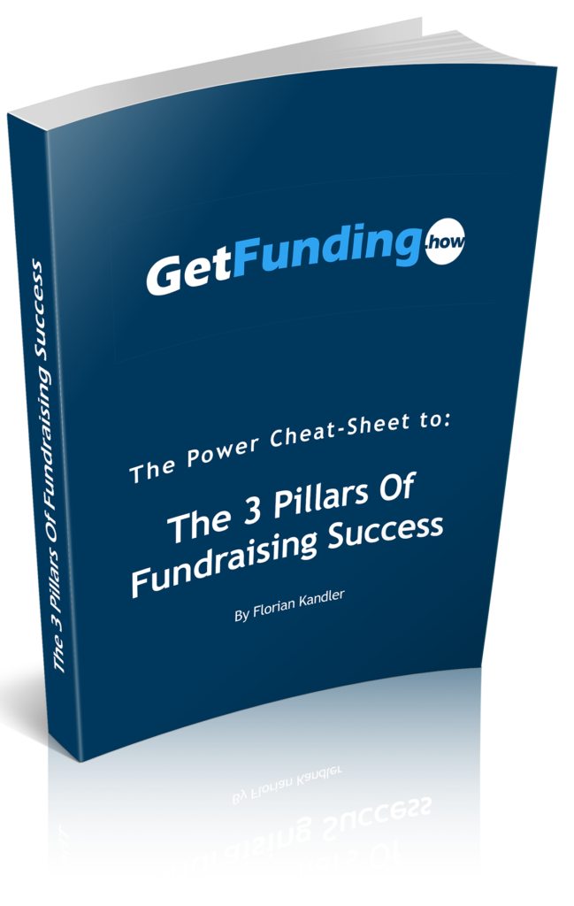 Pillars of Fundraising Success - Cheat Sheet - Florian Kandler